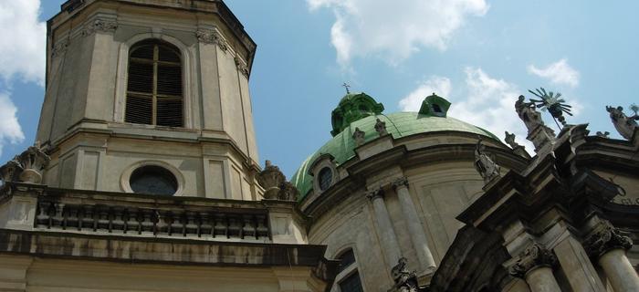 Kościół Dominkanów górujący nad miastem