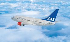 Samolot Boeing 737 linii SAS