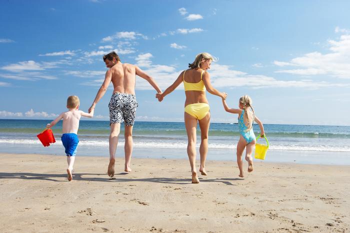 Idealna pogoda na plażowanie