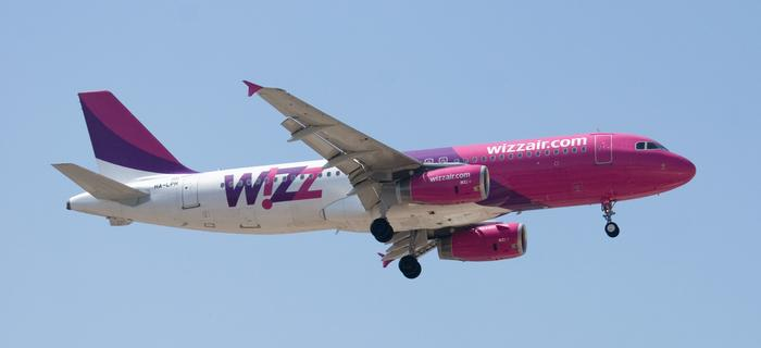 Samolot linii WizzAir