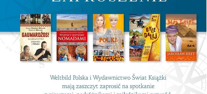 Świat Książki zaprasza na spotkanie podróżnicze
