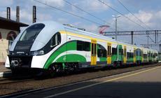 Nowoczesny pociąg ELF Kolei Mazowieckich