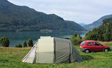 Camping w Norwegii