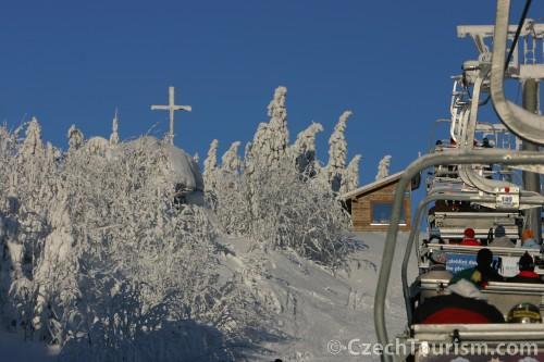 narty zima ferie