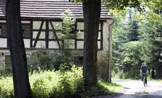W  Rzeszówku ostał się jeden z coraz rzadziej spotykanych domów szachulcowych