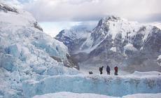 Szczeliny na Icefallu mogą mieć głębokość nawet kilkudziesięciu metrów