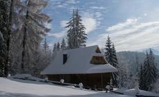 Małe Ciche: Tarasówka w zimowej szacie