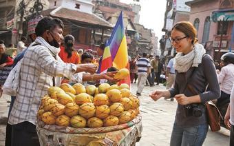 Katmandu, Durbar Square.