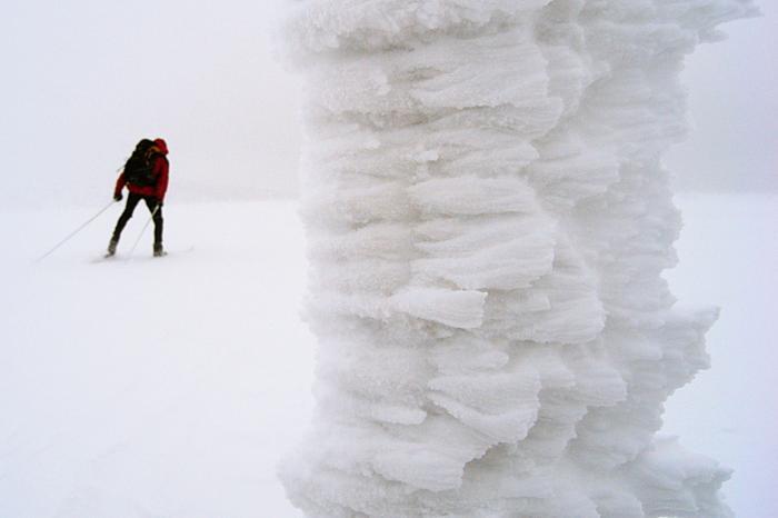 Karkonosze. Śnieżka, cross country