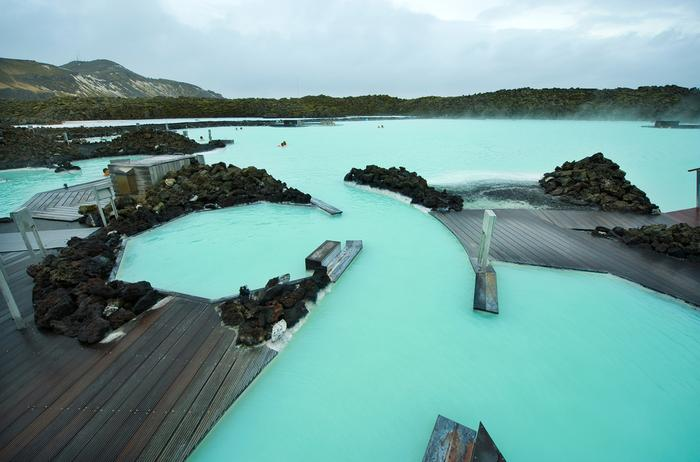 Termy na Islandii: Błękitna Laguna