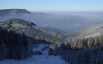 Czeskie Beskidy zimą