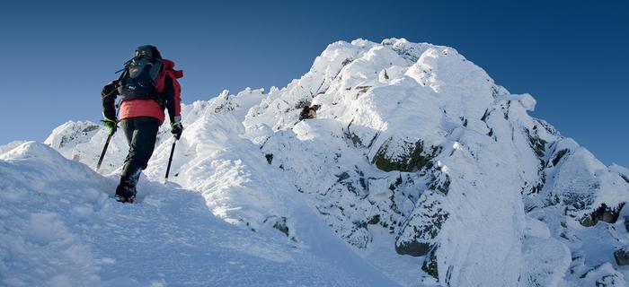 Góry w Polsce: Tatry Wysokie zimą