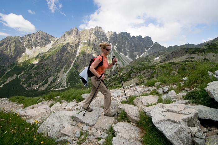 Góry w Polsce, Tatry Wysokie - Szlak na Rysy