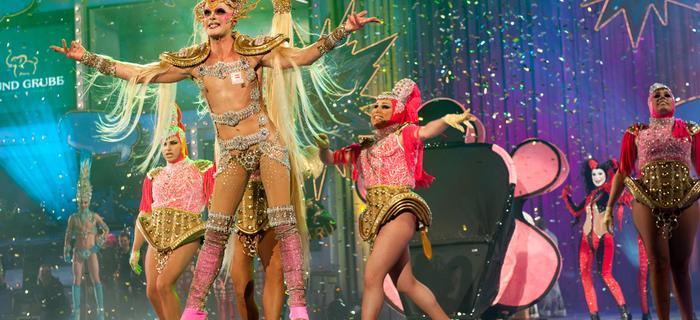 Wyspy Kanaryjskie - Karnawał w Las Palmas, pokaz Drag Queen