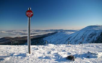 Góry w Polsce: Karkonosze zimą