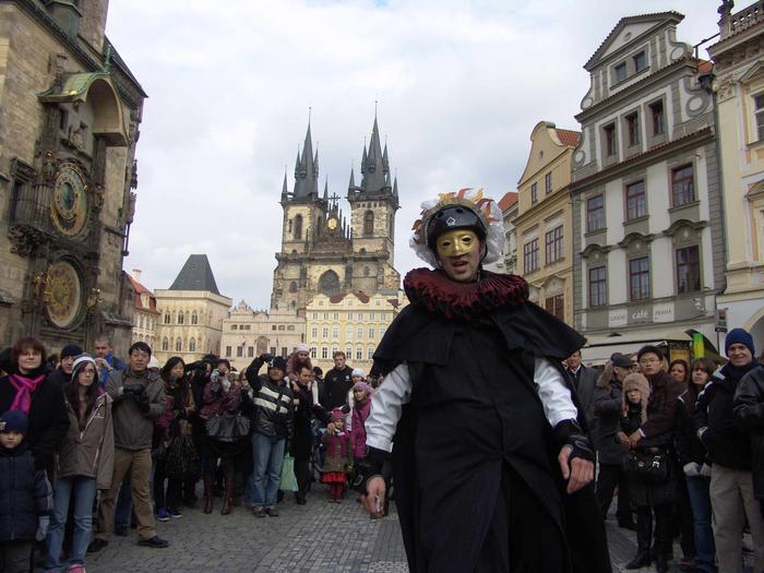 Czechy, Praga. Karnawał w Pradze