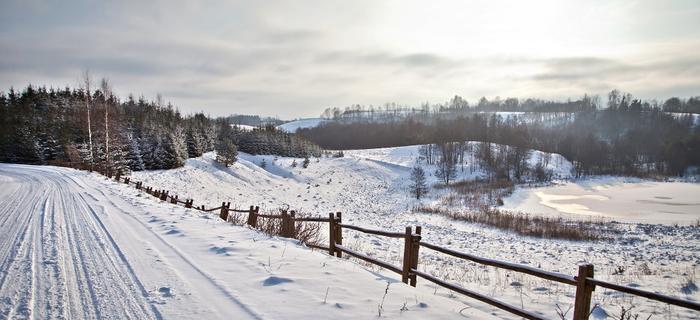 W tym roku zima przyszła wyjątkowo późno