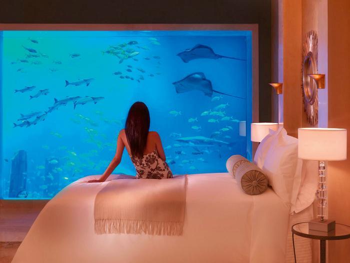 ZEA, Dubaj - Hotel pod wodą