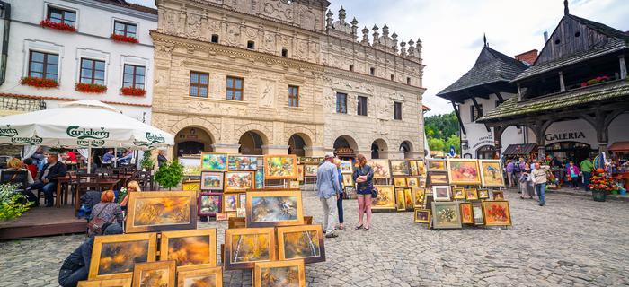 Kazimierz Dolny atrakcje - Rynek w Kazimierzu nad Wisłą