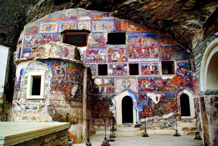 Turcja, monaster Sumela
