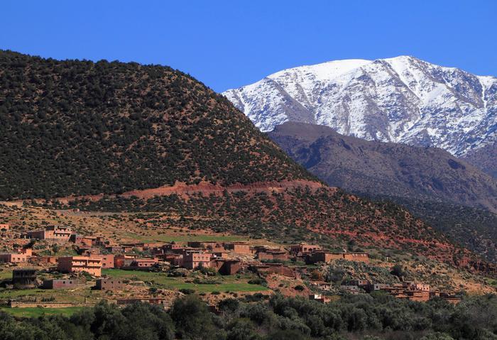 Dżebel Tubkal, Maroko