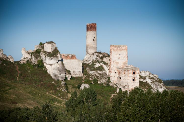 Szlak Orlich Gniazd – zamek w Olsztynie