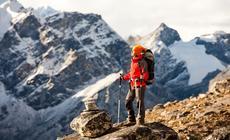 Trekking w górach zimą