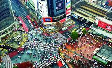 Skrzyżowanie w Shibuya, Tokio