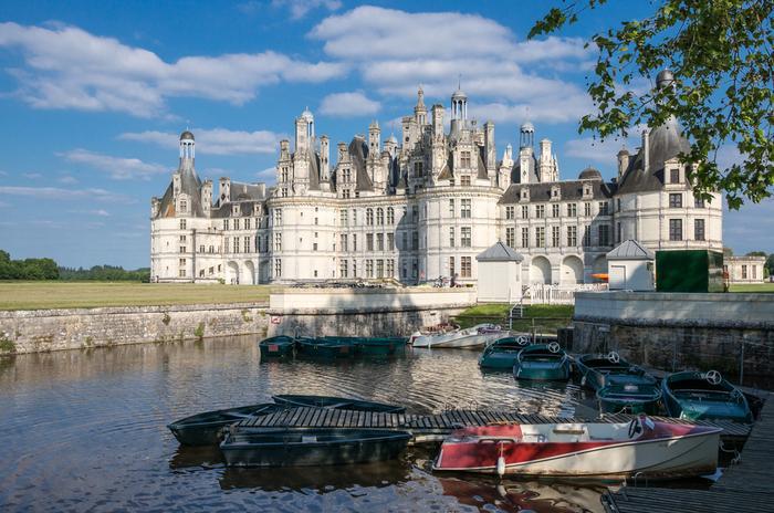 Zamki nad Loarą; zamek w Blois