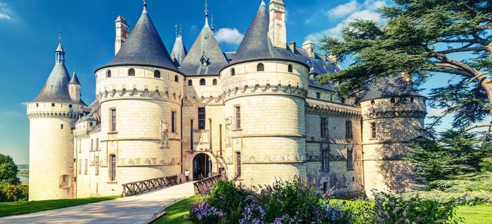 Zamki nad Loarą: zamek Chaumont