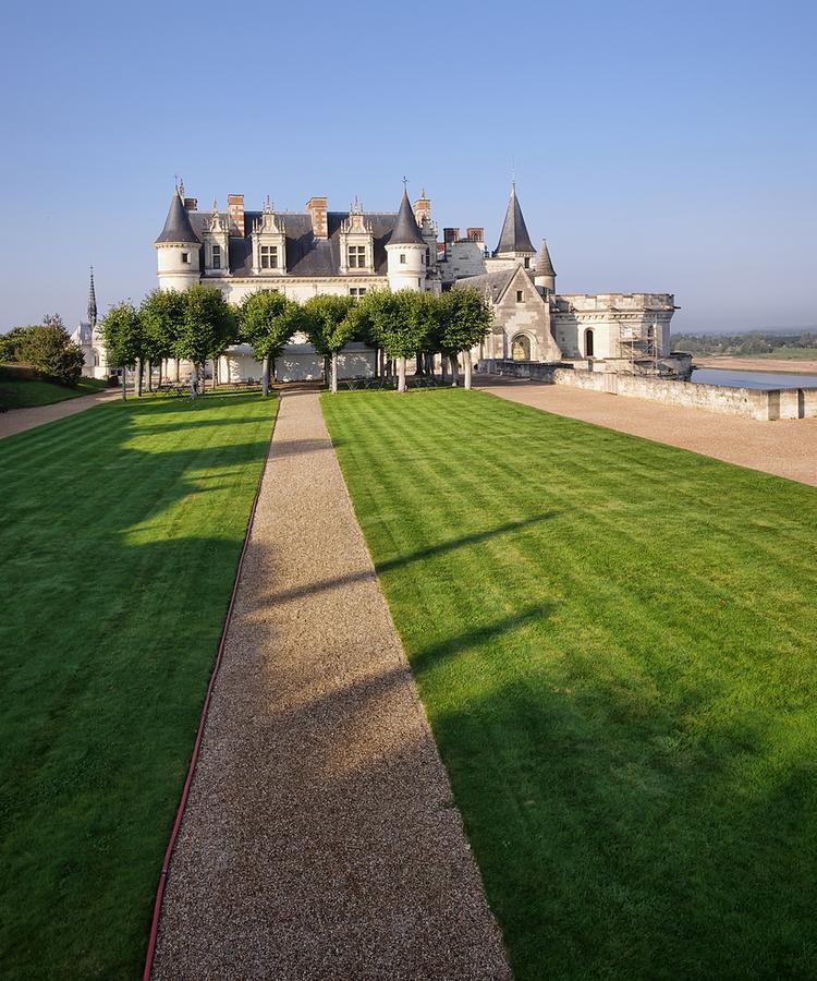 Zamki nad Loarą: zamek w Amboise