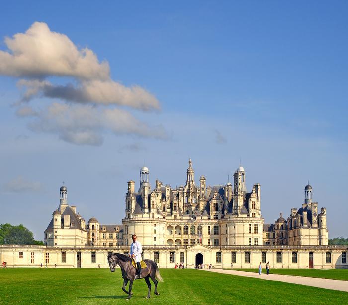 Zamki nad Loarą: zamek Chambord