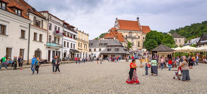 Kazimierz Dolny atrakcje: Rynek