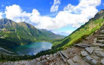 Góry w Polsce - Morskie Oko. Tatry Wysokie