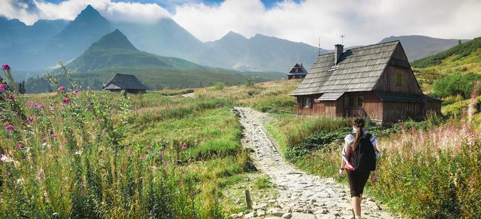 Góry w Polsce - Hala Gąsienicowa