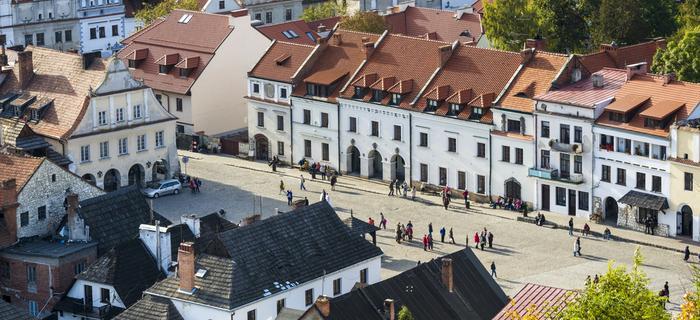 Kazimierz Dolny atrakcje: rynek kazimierski