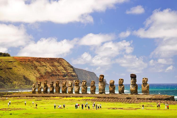 Wyspa Wielkanocna (Rapa Nui) - maoi