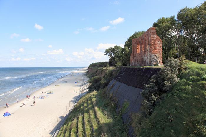 Ciekawe miejsca w Polsce: Trzęsacz