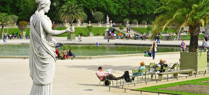 Ogrody Luksemburskie, Paryż
