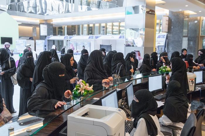 Oddzielne kasy dla kobiet, zgodnie z prawem segregacji płci
