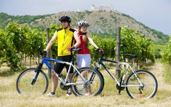 Czechy, Palava - trasy rowerowe wśród winnic