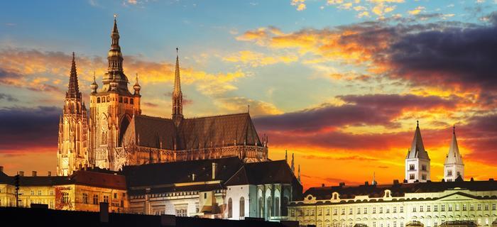 Praga. Zamek w Pradze