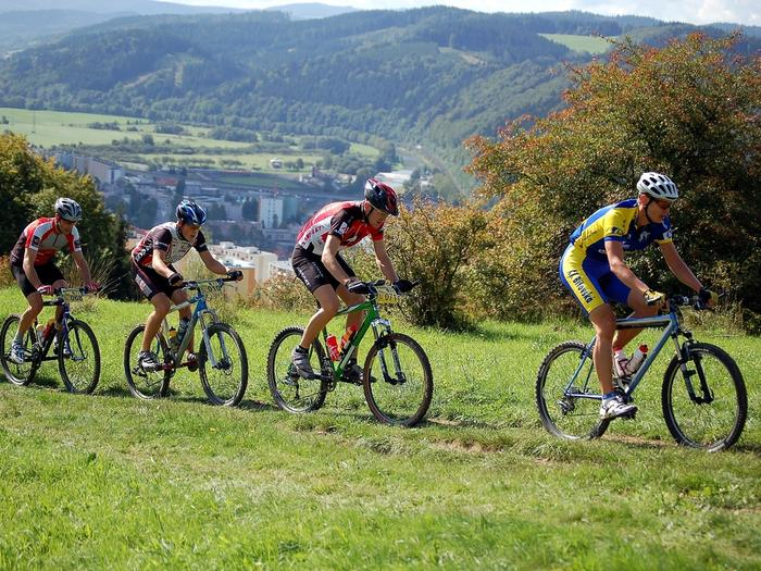 Trasy rowerowe w Czechach