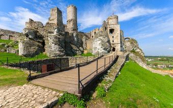 Ruiny zamku Ogrodzieniec