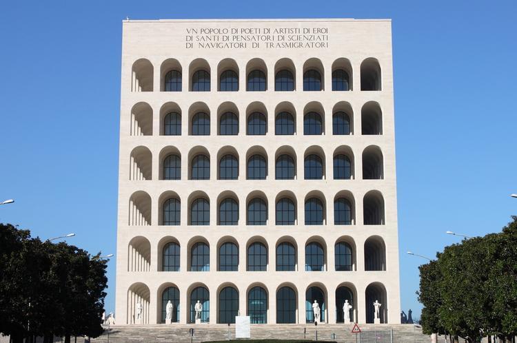 Rzym zabytki - Kwadratowe Mauzoleum