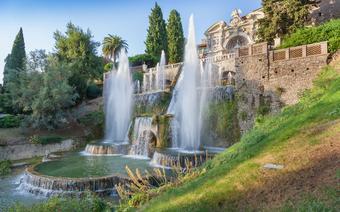 Rzym zabytki: Villa dEste / Tivoli