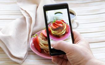 Fotografowanie jedzenia smartfonem
