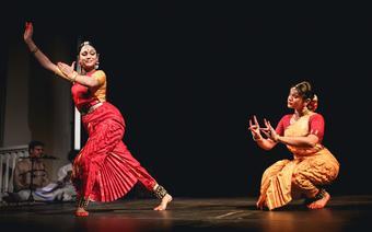 Rama Vaidyanathan z córką. Brave Festival 2014
