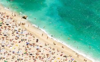 Lazurowe Wybrzeże: plaża w Nicei