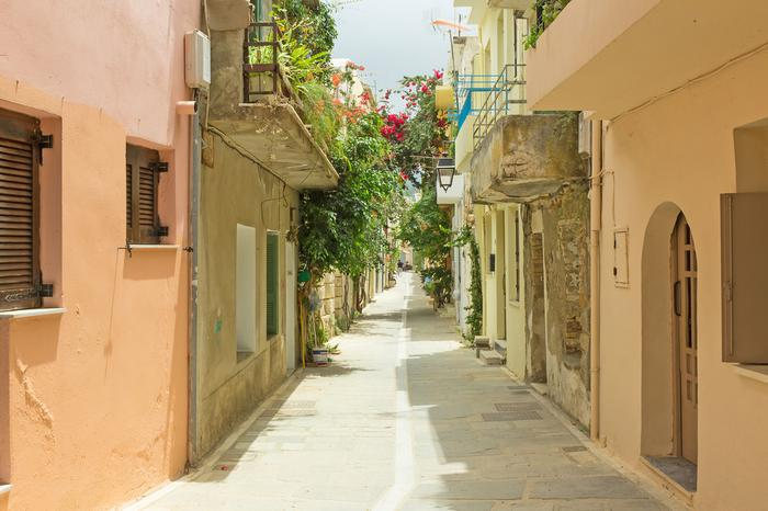 Wyspy greckie – starówka w Retimno